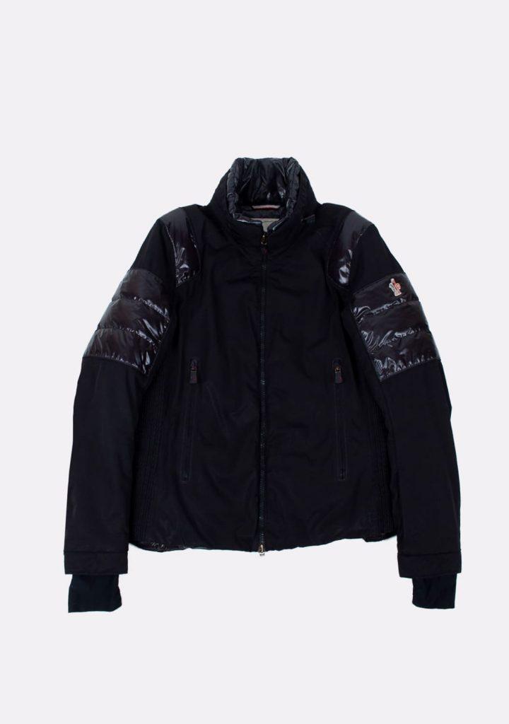 moncler-preloved-black-color-down-jacket