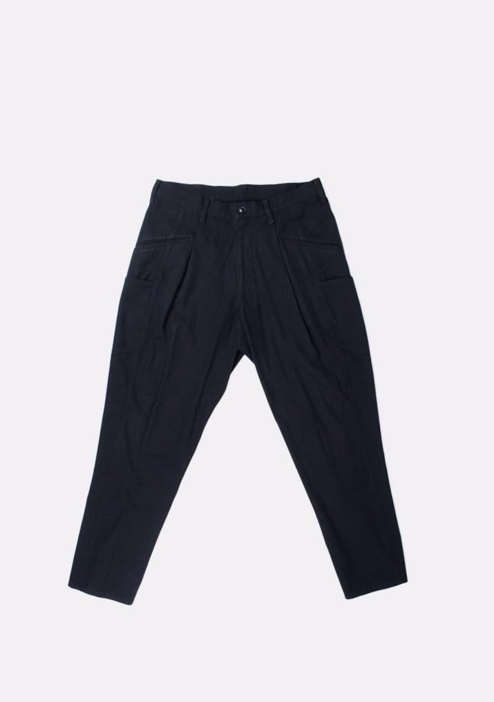yohji-yamamoto-black-wool-and-cotton-blend-trousers