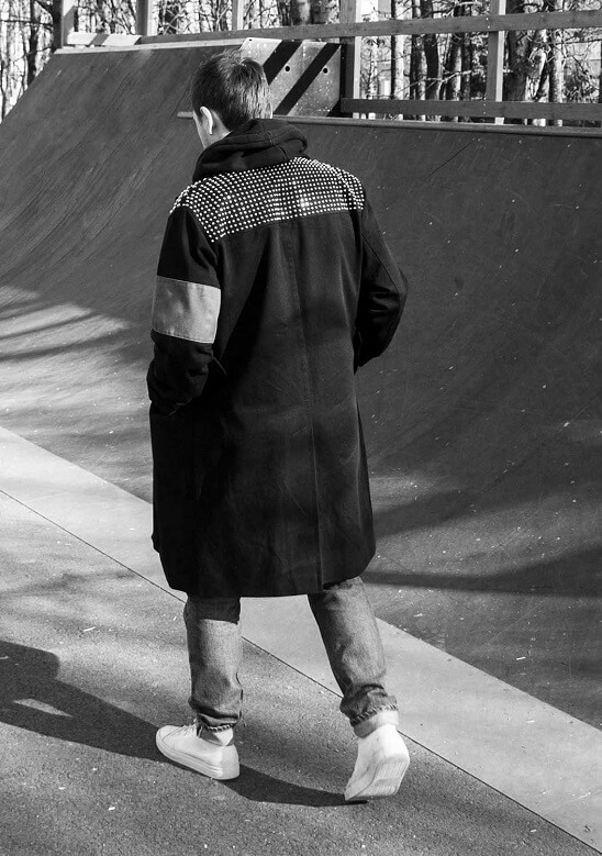 prada-coat-with-metal-studs-size-s-m-l