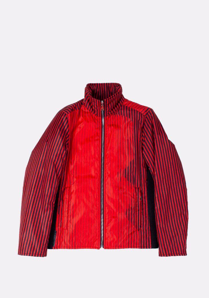 prada-red-black-color-striped-jacket